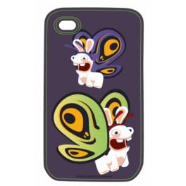Coque Iphone 4/4S : LAPINS CRETINS:Spyco Bee
