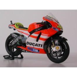 Ducati Desmosedici GP11 Miniature déjà montée échelle : 1/18